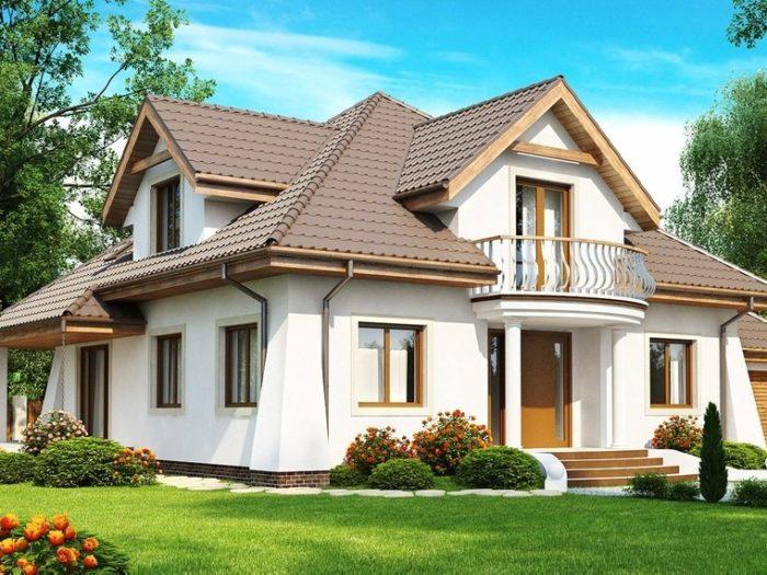 Мансардные дома